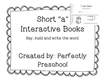 "Short ""a"" Interactive CVC Books"