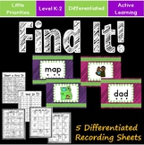 Short a - Interactive Find It Activity