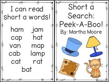 Short a: Lift the Flap Book