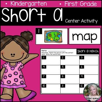 Short a Literacy Center Activity