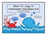 "Short ""a"" Long ""a"" Underwater Card Game Fun (Common Core Aligned)"