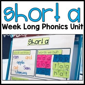 Short Vowel Activities: Short a