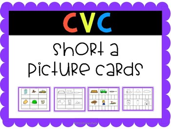 Short a Picture Cards