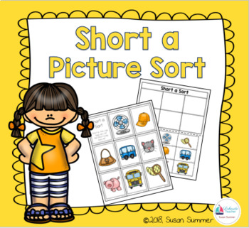 Short a Picture Sort