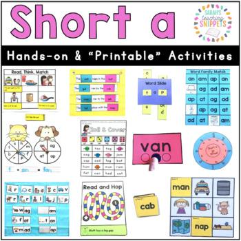 Short a Activities