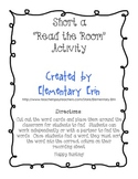 Short a Read the Room activity (Unit 1, Week 1 Reading Street)