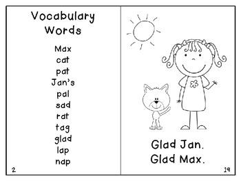 Short a Reader1- Max the Cat