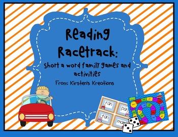 Short a Reading Racetrack