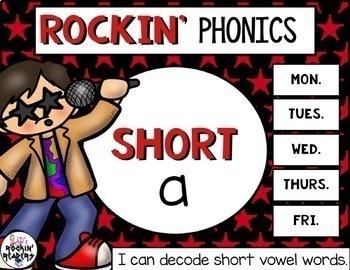 Short a Rockin' Phonics
