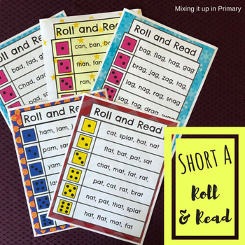 Short a - Roll and Read