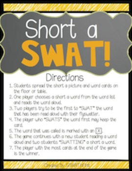 Short a SWAT Game