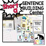 Short a Sentence Building Center