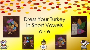 Short a - Short e Turkey Dressing