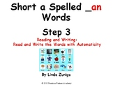 Short a Spelled _an Step 3 Reading and Writing Activities