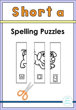 Short a Spelling Puzzles