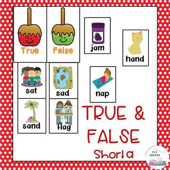Short a True and False Sort