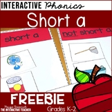 Short a Vowel Activities FREEBIE