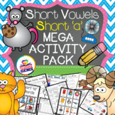Short A Mega Activity Pack