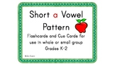 Short a Vowel Pattern Cards