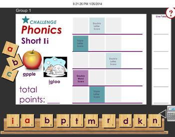 Short a Vowel and Short i Vowel: Blending Letters to make Words