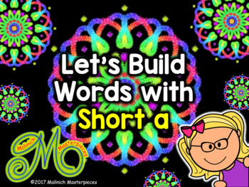 Short a Word Building - Interactive PowerPoint