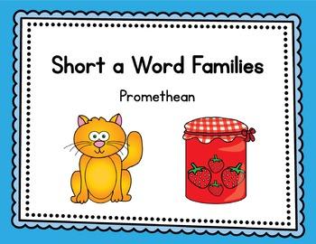 Short a Word Families - Promethean