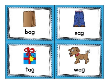 Short a Word Families - Word Sorts and More