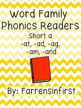 Short a Word Family Readers