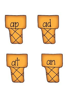 Short a Word Sort Literacy Center: at, an, ap, ad -  CCSS Aligned  - Kindergarte