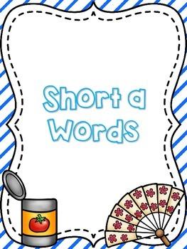 Short a Word Work {FREEBIE}