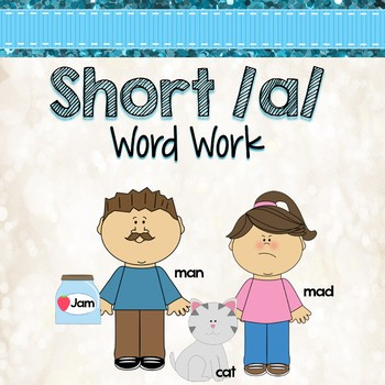 Short a Word Work Activities and Centers