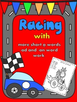 Word Work, -an, and -ad Word Families