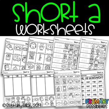 Short a Worksheets