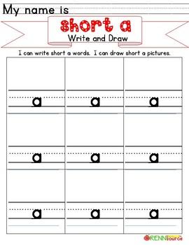 Short a Write & Draw