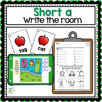 Short a Write the Room