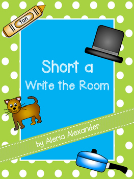 """Short a """"Write the Room"""" Activity"""