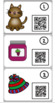 Short a/ack QR Code Task Cards