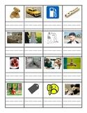 Short 'a' and Short 'e' worksheet