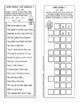 Short a, -at Word Family Phonogram Activity Book
