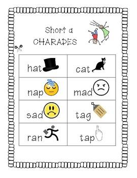 Short a charades