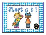 Short a and i Phonics Flipchart
