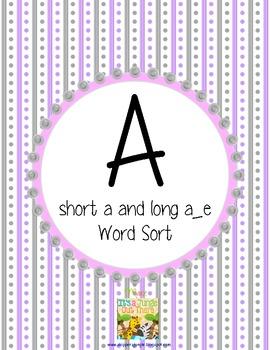 "Short ""a"" or Long ""a_e"" Sort"