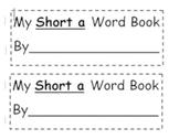 Short a, short e, and short i books