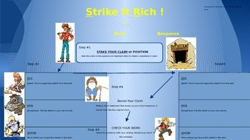 Short and Extended Response Writing Strategy: Strike It Rich!