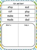 Short and Long A Activity packet