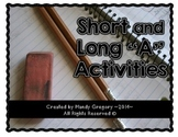 Short and Long A (Interactive Spelling Notebook and Centers)