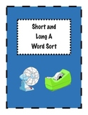 Short and Long A Word Sort