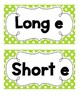 Short and Long E Sort