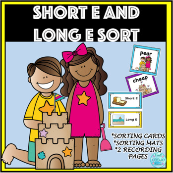 Short and Long E Word Sort - EA