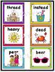 Short and Long E Word Sort - EA